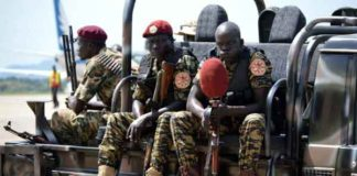 South Sudan's soldiers