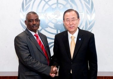 Ethiopian Lt Gen. Yohannes Gebremeskel Tesfamariam as the Force Commander for the United Nations Mission in South Sudan