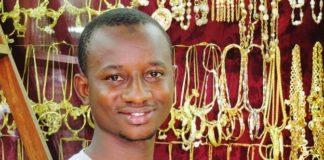 Online sales have helped Demba Baradji's jewellery shop, Barradji & Fils