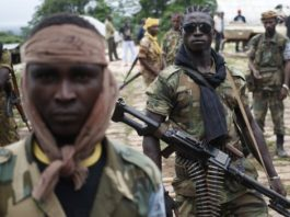 Sectarian fighting has forced much of the Muslim population - and Seleka fighters - to flee to the north or to neighbouring countries