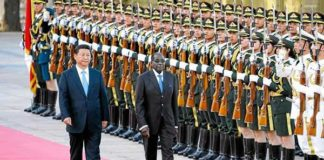 The Chinese are also unhappy with Zimbabwe's failure to repay previous loans.