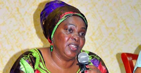 Gender minister Mary Karooro Okurut.