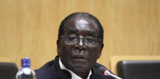 Zimbabwe President and African Union chairperson Robert Mugabe