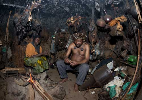 Witch doctors in Tanzania