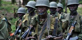 DRC soldiers
