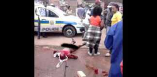 Mob justice in South Africa