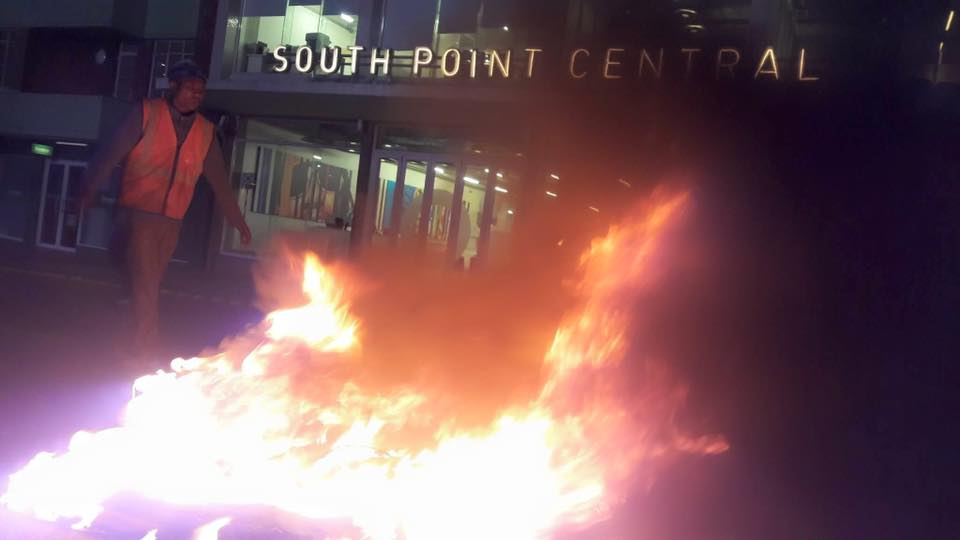 Students protest over cost of accommodation - Johannesburg - Image - CICA South Africa