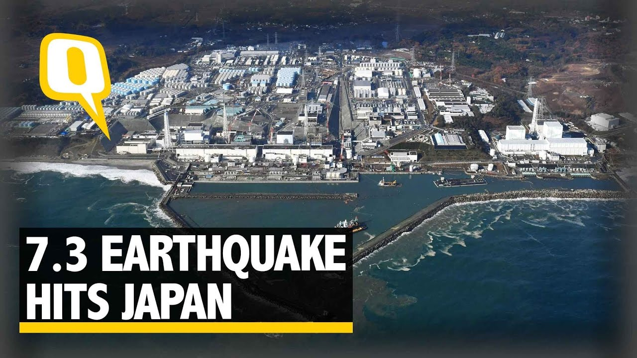 Earthquake Video In Japan Today