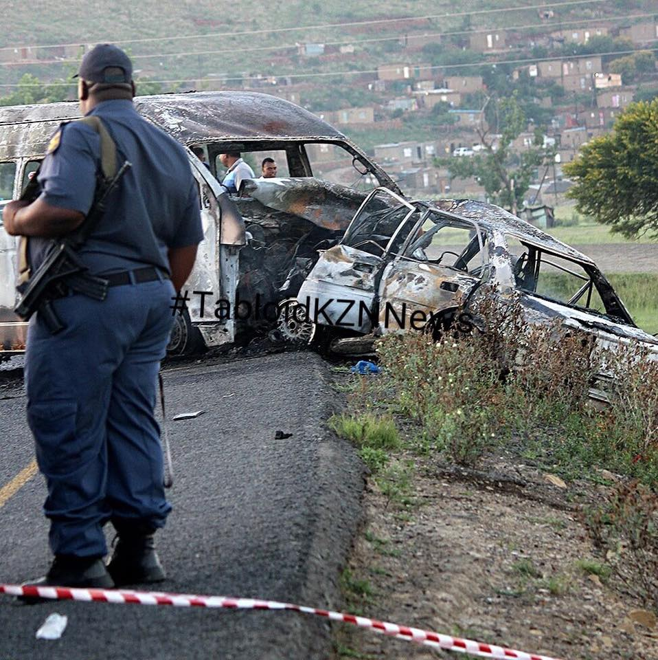 New Year Carnage On South African Roads