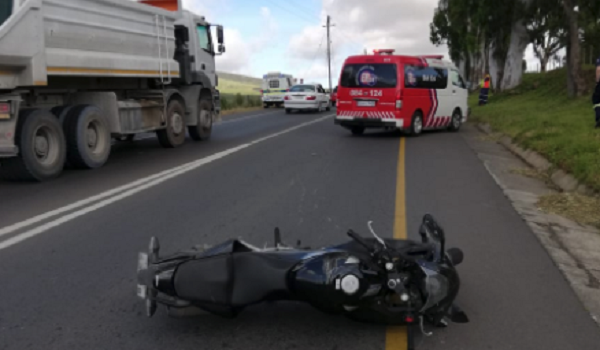 Biker killed in accident on the Tygervalley Road in Durbanville