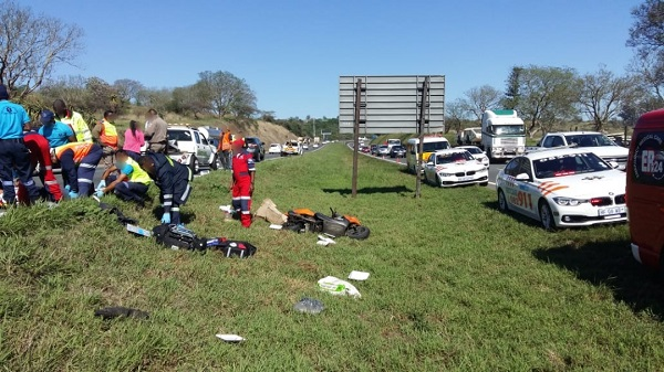Motorcyclist knocked down on N3 near Ashburton | South Africa Today