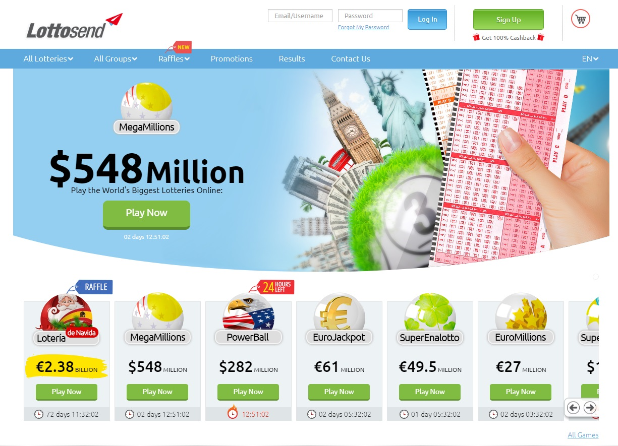 Lottosend – Mega Millions Lottery Jackpot Soars to 8 Million and You Can Buy Tickets Online From South Africa!