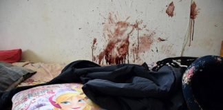 Room of a 9 year old girl after blacks brutally killed her