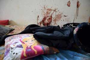 Randfontein family murder. 9 year old girl's room. (Photo BKA)