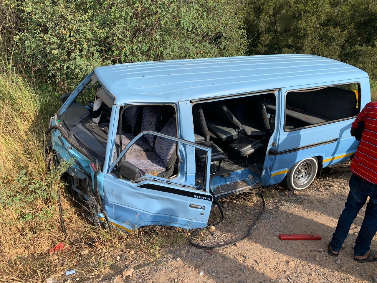 Gauteng Ten Injured In Midrand Taxi Crash South Africa Today Media