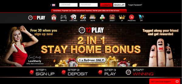 12Play Online Casino