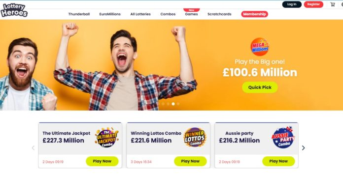 Lottery Heroes Review – Play HUGE Jackpot Lotteries Online From South Africa!