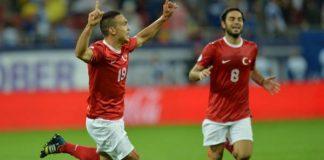 Turkey defeated Honduras in a 2014 World Cup warm up match