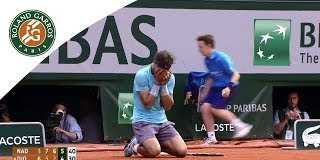 Match points from finals - 2014 French Open