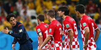 No explanation from Yuichi Nishimura who only spoke in Japanese to the Croatian players. Brazil beat Croatia 3-1 in the World Cup