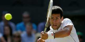 Novak Djokovic was given the No. 1 seeding