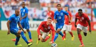 England draw against Honduras