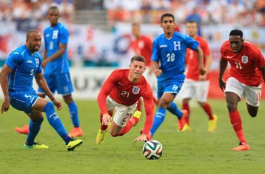 England draw against Honduras