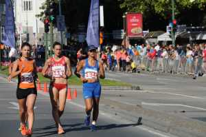 University of Johannesburg's Anél Oosthuizen is focused on the 20km race walk at the Rio Olympics. Photo: Supplied