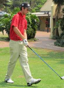 NMMU-Madibaz golfer Luke Jerling captured his second title in the Silver Salver tournament at Humewood on Sunday. Photo: Supplied