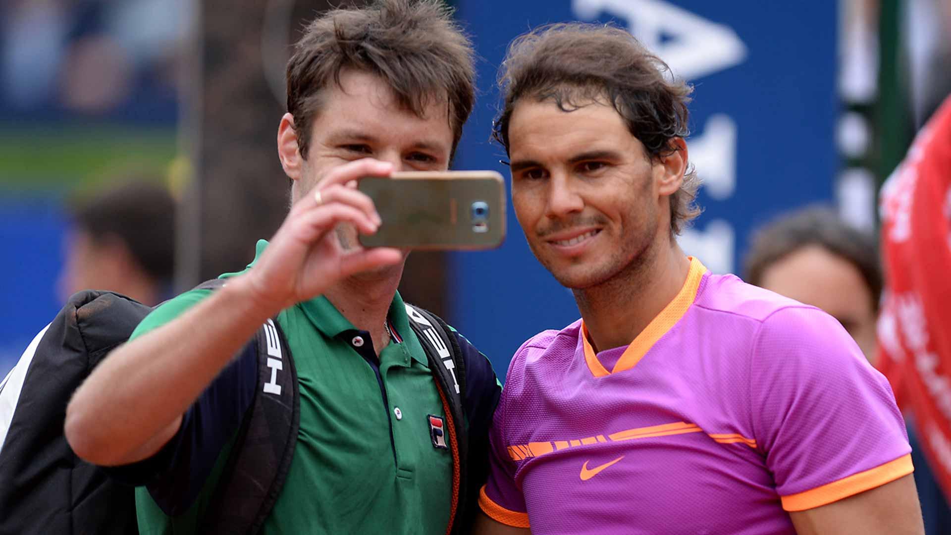 Nadal Wikipedia: Despite Losing, Zeballos Gets His Nadal Selfie In