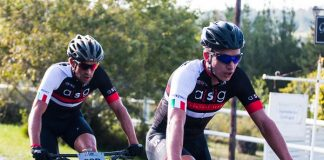 The ASG-Ellsworth team of HB Kruger (front) and Stuart Marais claimed victory in the men's Elite category on the first stage of the Liberty TransCape MTB Encounter from Knysna to Wilderness in the Western Cape today. The seven-stage 614km race finishes in Franschhoek on Saturday.