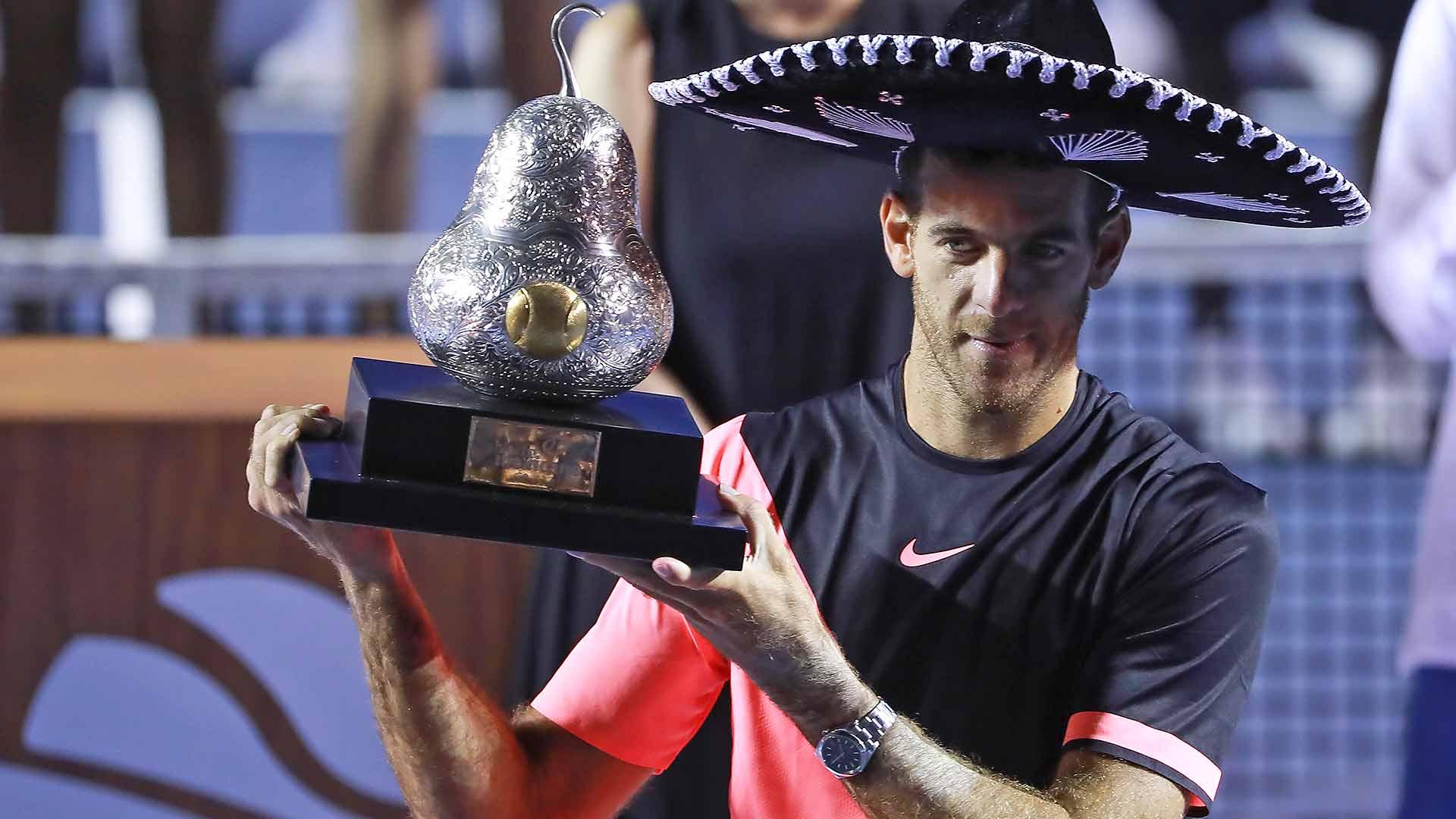 Delpo Hoists Biggest Trophy In Years