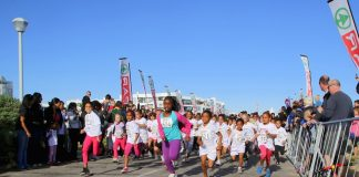 The annual SPAR Women's 10km Challenge week in Port Elizabeth will kick off with the Little Ladies race over 2.5km at Pollok Beach on Tuesday. Picture: Leon Hugo