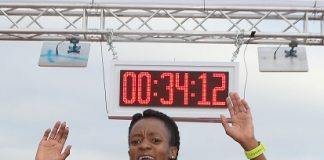 Kesa Molotsane, who won the Grand Prix Series last year, will be back to defend her title in the SPAR Women's 10km Challenge in Port Elizabeth on Saturday. The race starts at 7am. Picture: Reg Caldecott