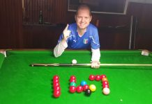 Port Elizabeth's Charl Jonck will be hoping to make his mark when the South African snooker championships get under way at the Hellenic Hall in Port Elizabeth on Sunday. Picture: Supplied