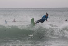 Leading Madibaz surfer Greg Cuthbert will lead his team's bid to capture the University Sport South Africa title when the annual tournament is held at Victoria Bay near George from tomorrow to Saturday. Picture: Supplied
