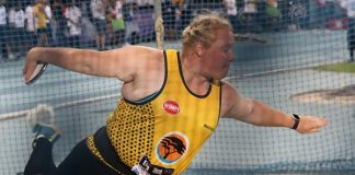 Bestmed Madibaz student-athlete Ischke Senekal continued her outstanding year when she won the shot put gold medal at the African Athletics Championships in Asaba in Nigeria on Sunday. Picture: Henry Marsh Photography