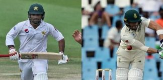Sarfaraz and du Plessis sets a new test record