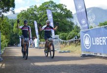 Liberty have renewed their sponsorship of the TransCape MTB Encounter mountain-bike race which will take place next year. Riders will cover 591km in the seven-stage event from February 2 to 9 in the Western Cape, starting in George and ending in Franschhoek. Photo: Full Stop Communications