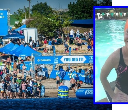 Claudia Dieckmann (who was diagnosed with Multiple Sclerosis in 2011) will once again spearhead a group of swimmers that will take on the 5th annual Sanlam Cape Mile brought to you by Sanlam Investments in 2019
