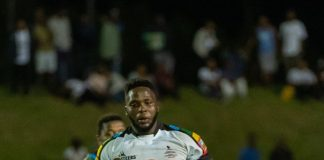 FNB Madibaz eighth man Bevan Prinsloo was named the Player that Rocks after scoring four tries in their Varsity Shield match against University of KwaZulu-Natal in Maritzburg last week. Madibaz won the match 41-12. Photo: Jethro Snyders Photography