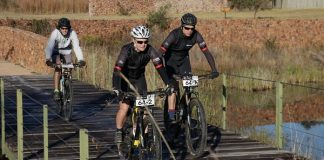 Riders are in line for a memorable getaway when the Liberty Waterberg Encounter mountain-bike race takes place from June 7 to 9 near Bela-Bela in Limpopo. Photo: Gerrie Kriel/Twin Productions SA