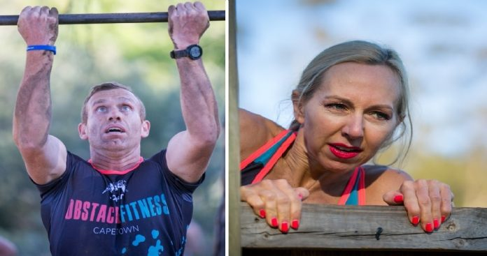 """Seen here: Danie Rossouw and Ashleigh Singers in action during the """"Competitive"""" IMPI Challenge. Photo Credit: Mark Sampson"""