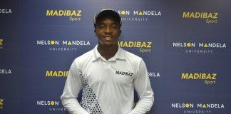 Madibaz Cricket Club player Lutho Sipamla provided one of the highlights of the season when he made his debut for South Africa in February. Photo: Supplied