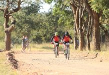 Competitors in the Liberty Waterberg Encounter will face a few technical tests on the second stage when the mountain-bike race takes place near Bela-Bela in Limpopo from Friday to Sunday. Photo: Gerrie Kriel/Twin Productions SA
