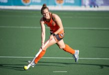 University of Johannesburg's Kristen Paton will have an important part to play in their bid for the women's title at the University Sport South Africa hockey tournament in Stellenbosch from July 1 to 5. Photo: Luke Thorrold