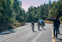 Cyclists in the Takealot Jock Classic will face a slightly different opening stage with the inclusion of Brondal Road in this year's three-stage, one-day road cycle race in Mpumalanga on July 13. Photo: Memories 4 U Photography