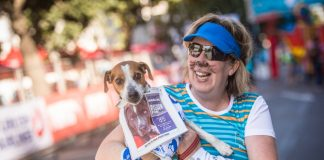 The Johannesburg SPCA is one of the official charities of the FNB Joburg 10K CITYRUN. Photo Credit: Tobias Ginsberg