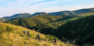Prospective participants will get a good idea of what the PwC Great Zuurberg Trek mountain-bike race has to offer when SuperSport broadcasts a highlights package at 8pm on Thursday. The show will be repeated several times until Tuesday. Photo: Zane Schmahl