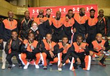The University of Johannesburg basketball men's team won the University Sport South Africa tournament for the first time since 2009 in Cape Town last week. Photo: Kimara Singh